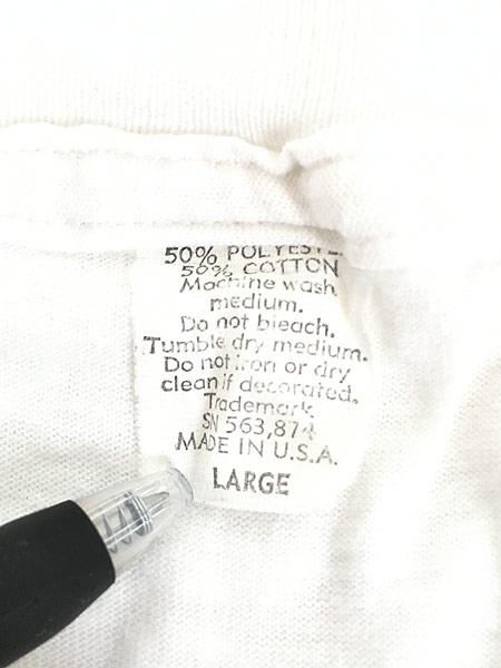[7] 古着 90s USA製 Shoe Box 「Sex」 ウサギ ポップ アート メッセージ Tシャツ L 古着