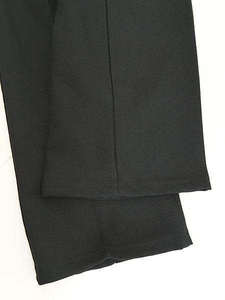 [5] 古着 80s Levi's 517 ブラック スラックス パンツ ブーツカット 黒 W32 L30 古着