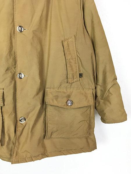 [3] 古着 70s WoolRich 人気 アークティック パーカー 60/40クロス ダウン ジャケット XL 古着