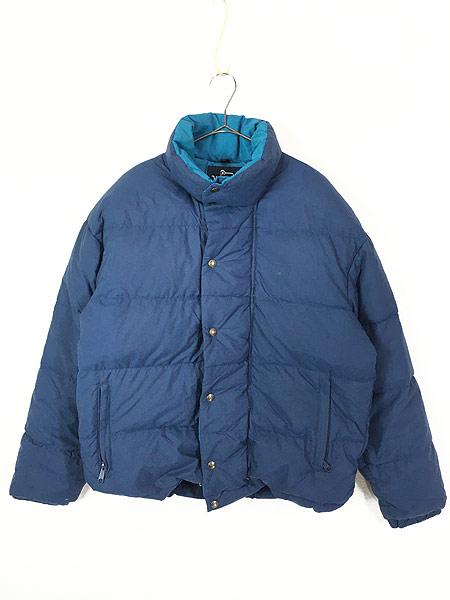 [1] 古着 80s USA製 WoolRich 軽量 ナイロン シェル ダウン ジャケット M 古着