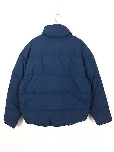 [4] 古着 80s USA製 WoolRich 軽量 ナイロン シェル ダウン ジャケット M 古着