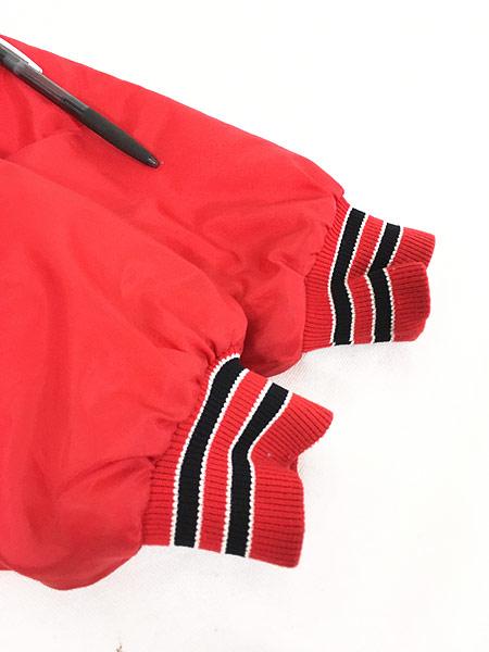 [5] 古着 80s MLB St. Louis Cardinals カーディナルス ナイロン スタジャン ジャケット M位 古着
