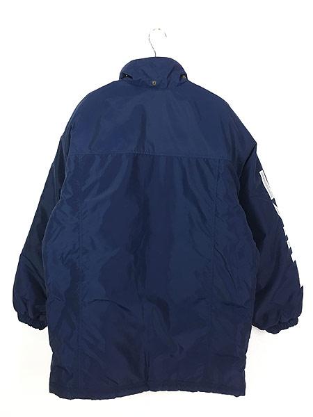 [3] 古着 90s NIKE BIG スウォッシュ デザイン リバーシブル パデット ジャケット M 古着