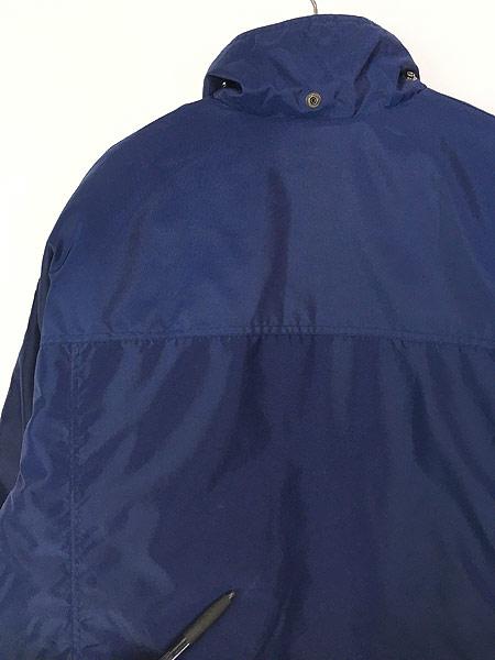 [4] 古着 90s NIKE BIG スウォッシュ デザイン リバーシブル パデット ジャケット M 古着