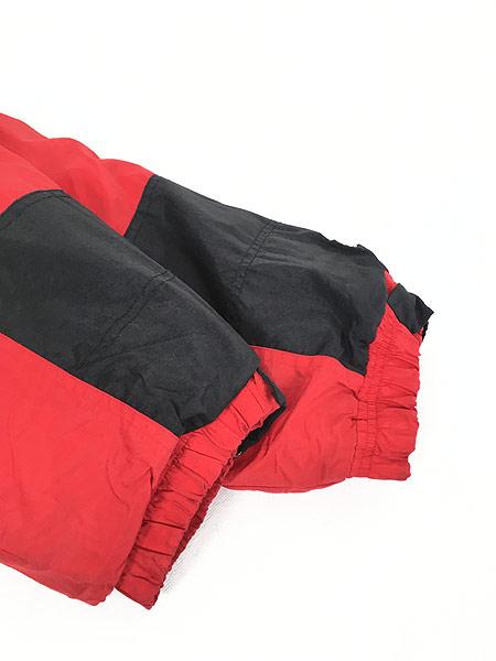 [7] 古着 90s STARTER製 NU HUSKERS ハスカーズ 2way パデット ナイロン ジャケット XL 古着