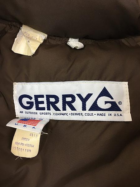 [9] 古着 80s USA製 GERRY ジェリー ふかふか ダウン ジャケット L 古着