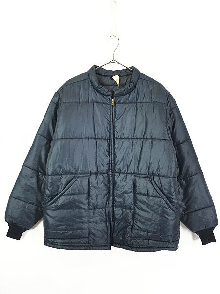 [1] 古着 70s USA製 RED KAP リップストップ シェル パデット キルティング ジャケット L 古着