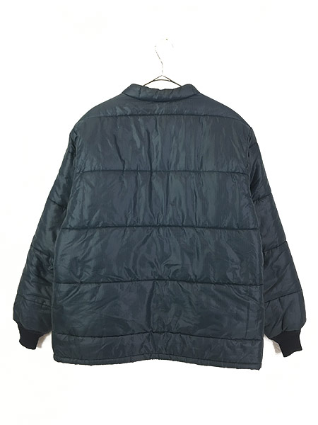 [4] 古着 70s USA製 RED KAP リップストップ シェル パデット キルティング ジャケット L 古着