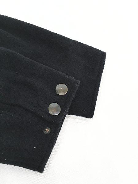 [5] 古着 90s Abercrombie&Fitch 防寒 パデット & ボア ライナー ウール ダッフル コート L 古着