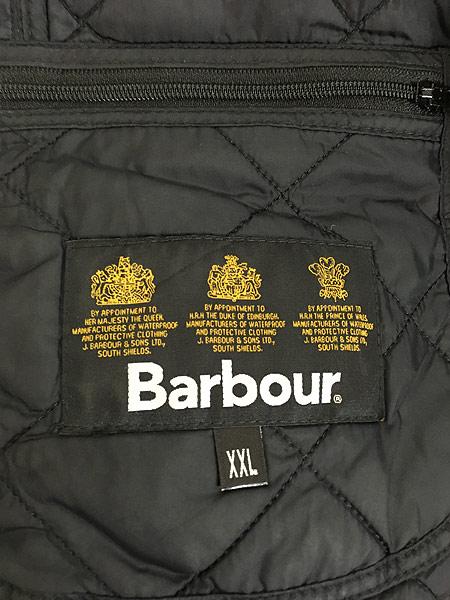 [8] 古着 Barbour 「International Ariel」 パデット キルティング インターナショナル ジャケット XXL ブランド 古着