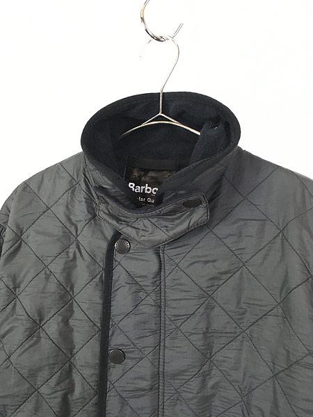 [3] 古着 Barbour 「Polar Quilts」 フリース ライナー ポーラーキルト ジャケット ロング丈 L ブランド 古着
