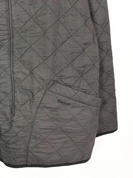 [4] 古着 Barbour 「Polar Quilts」 フリース ライナー ポーラーキルト ジャケット ロング丈 L ブランド 古着