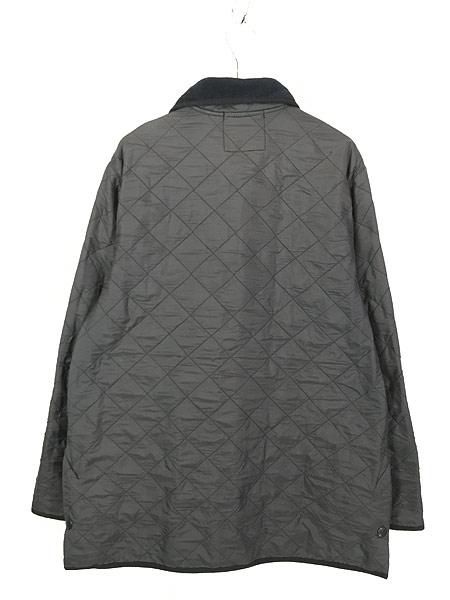 [5] 古着 Barbour 「Polar Quilts」 フリース ライナー ポーラーキルト ジャケット ロング丈 L ブランド 古着