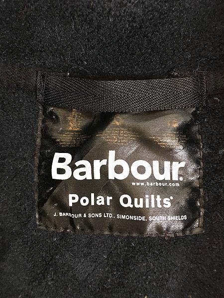 [8] 古着 Barbour 「Polar Quilts」 フリース ライナー ポーラーキルト ジャケット ロング丈 L ブランド 古着