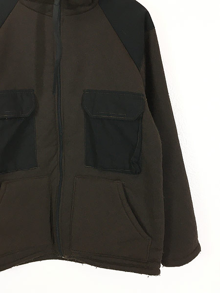 [3] 古着 90s 米軍 US ARMY ECWCS パイル ライナー ミリタリー フリース ベア ジャケット L 古着