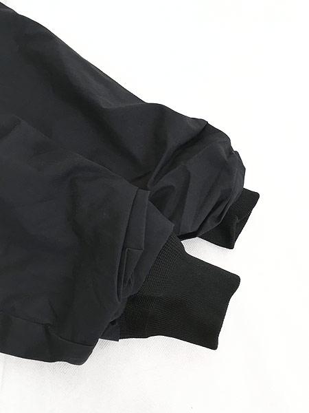[4] 古着 00s 米軍 「Utility Unisex」 ミリタリー 比翼 パデット ユーティリティー ジャケット 黒 M-L 古着