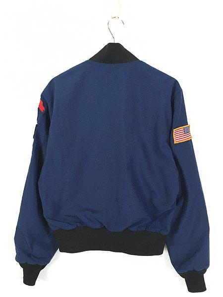 [3] 古着 90s 米軍 USAF ミリタリー カデット ジャケット ショート丈 42R 美品!! 古着