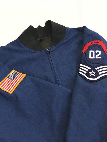 [7] 古着 90s 米軍 USAF ミリタリー カデット ジャケット ショート丈 42R 美品!! 古着