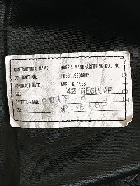[8] 古着 90s 米軍 USAF ミリタリー カデット ジャケット ショート丈 42R 美品!! 古着