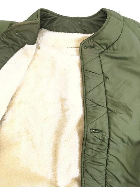 [6] 古着 60s 米軍 USAF 「4889C」 ミリタリー ウール ボア フィールド ライナー ジャケット M-L 古着