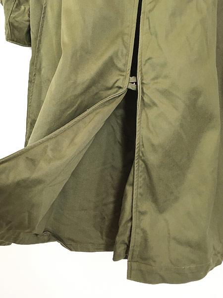 [6] 古着 40s 米軍 US ARMY M-1946 「Overcoat Field OD-7」 ダブルブレスト オーバー コート M-S 美品!! 古着