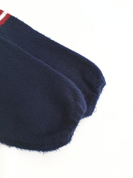 [5] 古着 エクアドル製 アメリカ フラッグ 星条旗 パターン ニット ジャケット パーカー XL位 古着