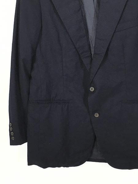 [3] 古着 80s Polo Ralph Lauren シンプル ウール テーラード ジャケット L位 古着