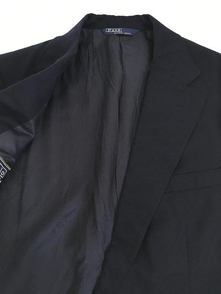 [7] 古着 80s Polo Ralph Lauren シンプル ウール テーラード ジャケット L位 古着