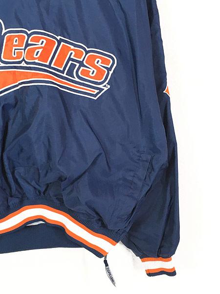 [3] 古着 90s STARTER製 NFL Bears プルオーバー ナイロン ジャケット L 古着