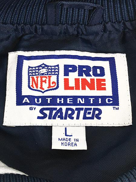[7] 古着 90s STARTER製 NFL Bears プルオーバー ナイロン ジャケット L 古着