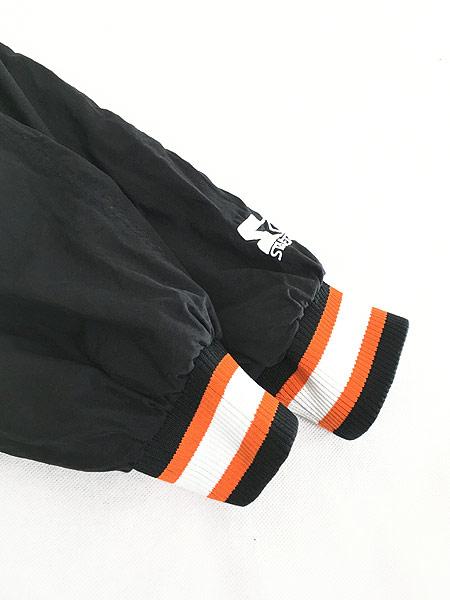 [5] 古着 90s USA製 STARTER NFL Cincinnati BENGALS プルオーバー ジャケット XL 古着