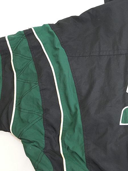[7] 古着 90s STARTER プルオーバー フーデッド パデット ナイロン ジャケット XL 古着