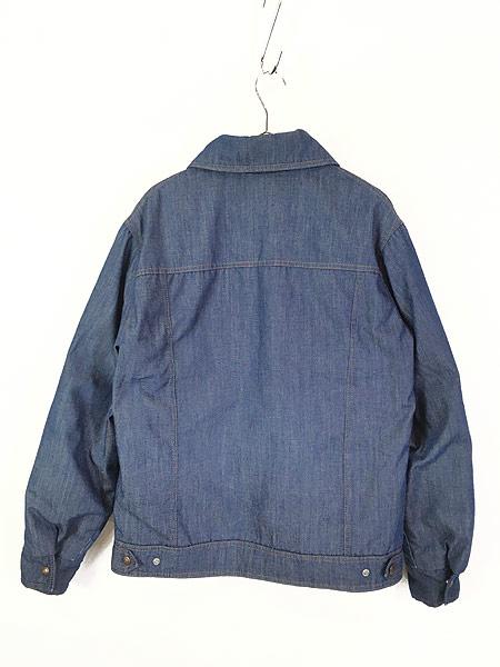 [4] 古着 70s USA製 Ski Levi's 濃紺 デニム グーズ ダウン ジャケット XL 古着