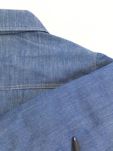 [8] 古着 70s USA製 Ski Levi's 濃紺 デニム グーズ ダウン ジャケット XL 古着