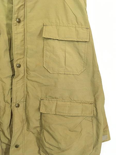 [3] 古着 70s USA製 WoolRich 60/40クロス ウール ライナー マウンテン パーカー マウンパ タン XL 古着