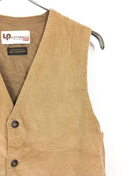 [3] 古着 70s Levi's Panatela コーデュロイ スーツ ベスト M位 古着