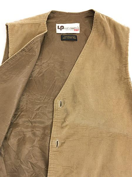 [6] 古着 70s Levi's Panatela コーデュロイ スーツ ベスト M位 古着