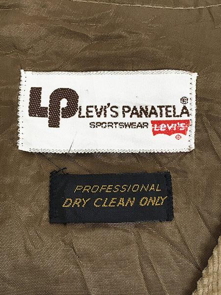 [7] 古着 70s Levi's Panatela コーデュロイ スーツ ベスト M位 古着
