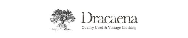 ドラセナは厳選したヴィンテージ・アメリカ古着を取扱っている古着通販サイトです。